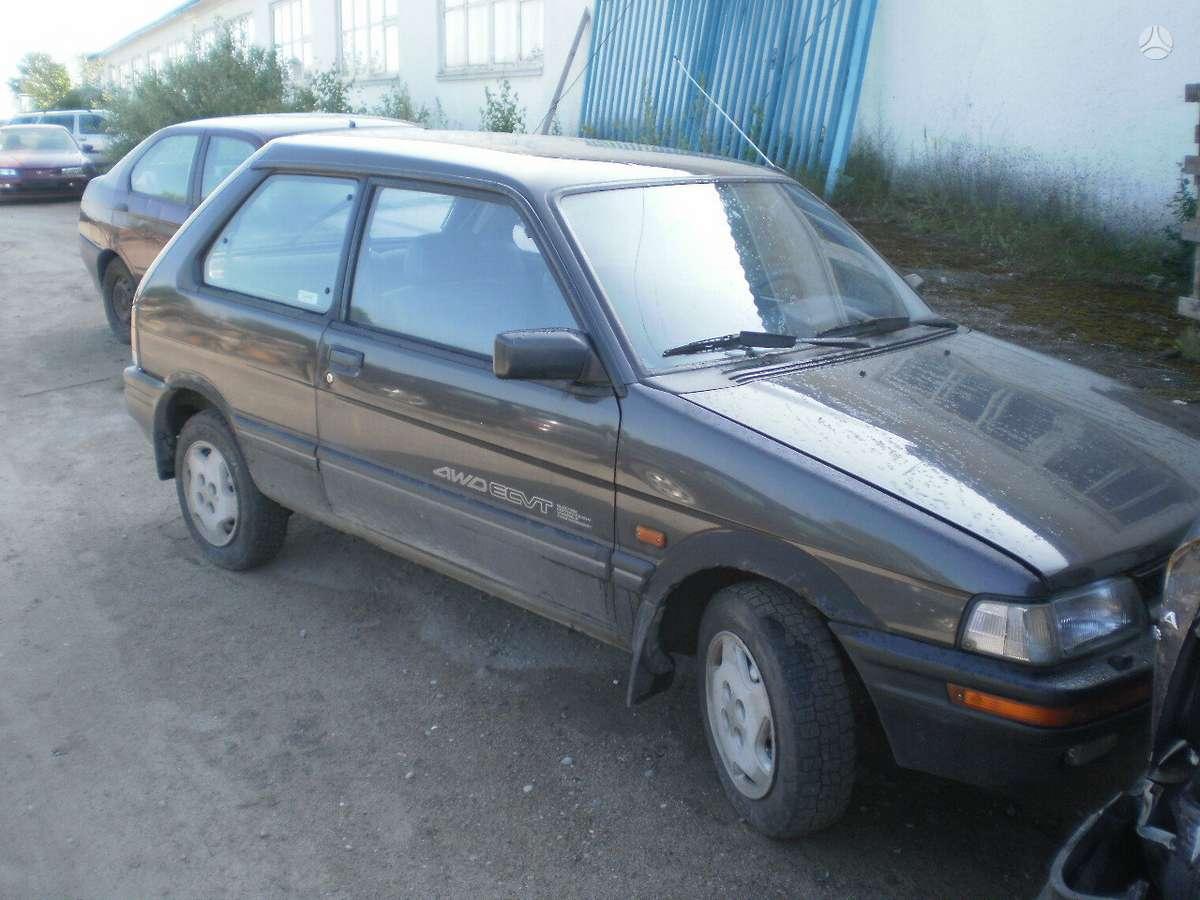 Subaru Justy. Superkame defektuotus automobilius euro impex