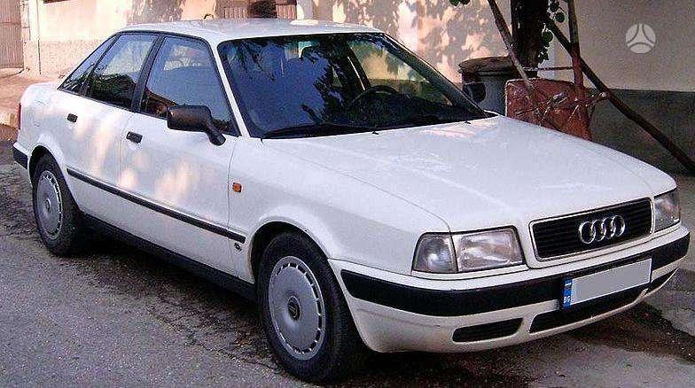 Audi 80 (B4) dalimis. Pigios kėbulo detalės, radiatoriai, ž