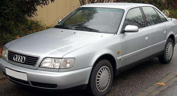 Audi A6 dalimis. Pigios kėbulo dalys, žibintai, radiatoriai,