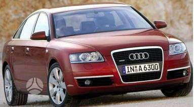 Audi A6. Pigios kėbulo detalės, žibintai, radiatoriai. vilniuje