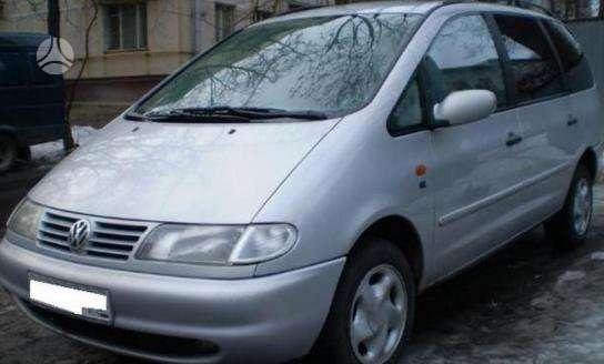 Volkswagen Sharan dalimis. Pigios kėbulo dalys, žibintai,
