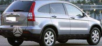 Honda CR-V dalimis. Pigios kėbulo dalys, žibintai, radiatoriai.