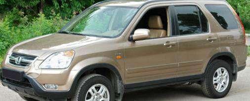 Honda CR-V dalimis. Kėbulo dalys, žibintai, radiatoriai.