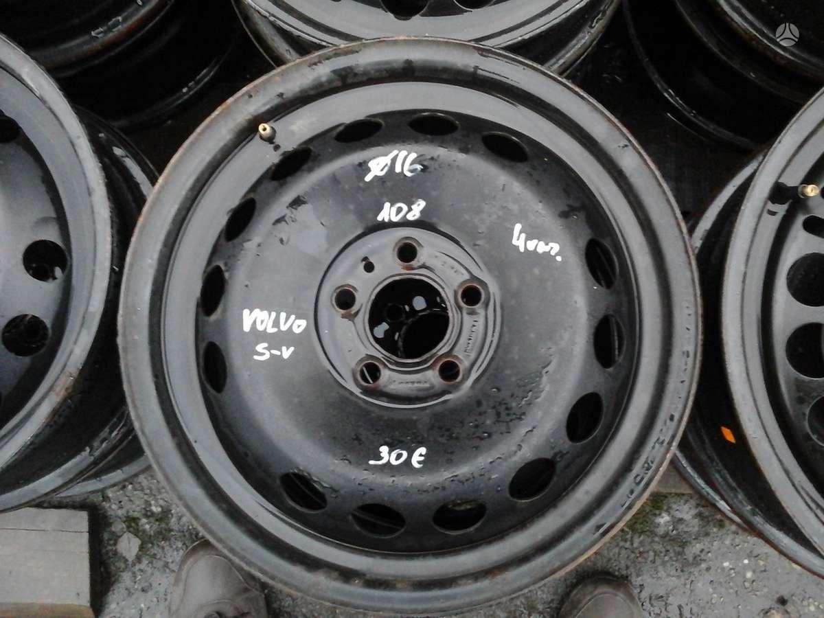 Volvo, plieniniai štampuoti, R16