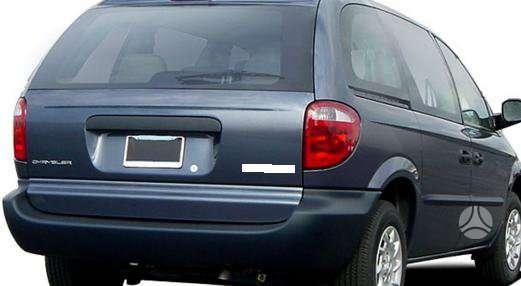 Chrysler Voyager dalimis. Kėbulo dalis, žibintus, radiatorius.