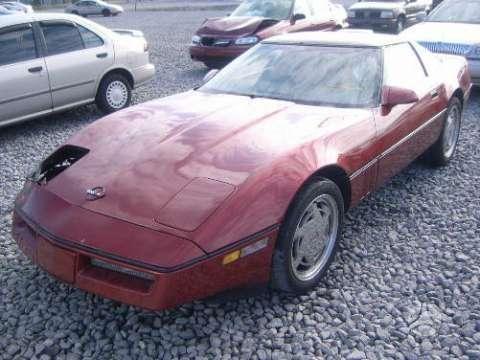 Chevrolet Corvette dalimis. 1996, 1994, 1988 .    parts  used