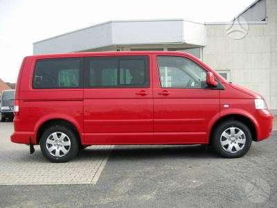 Volkswagen Multivan, keleiviniai mikroautobusai