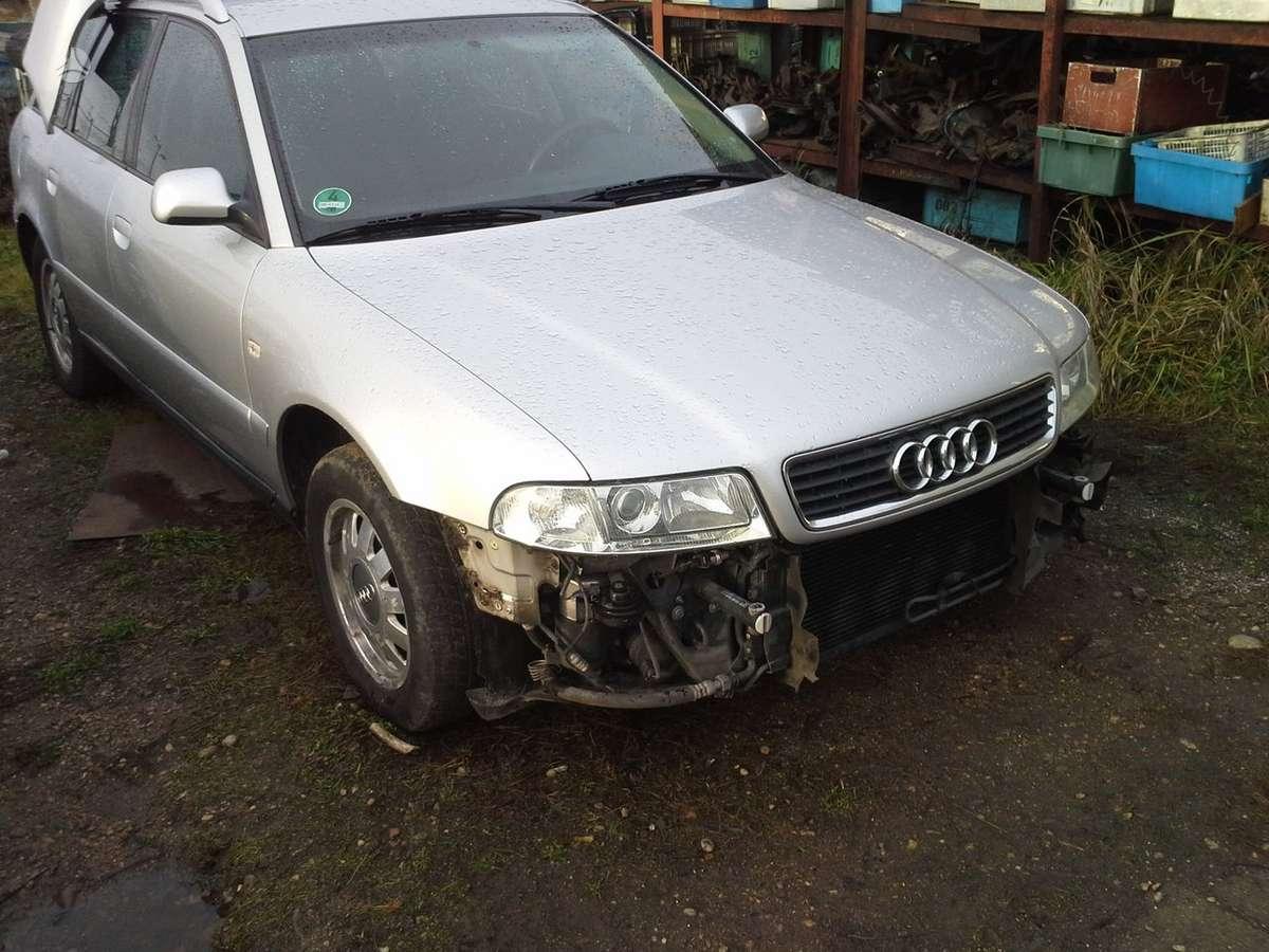 Audi A4. Variklis kala