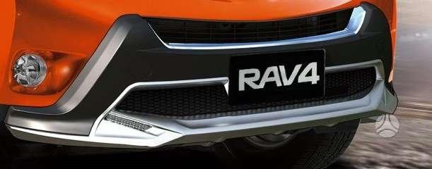 Toyota RAV4. Toyota rav4  buferių apdailos. priekine ir galine.