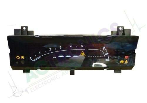 Citroen C6 prietaisų skydelis