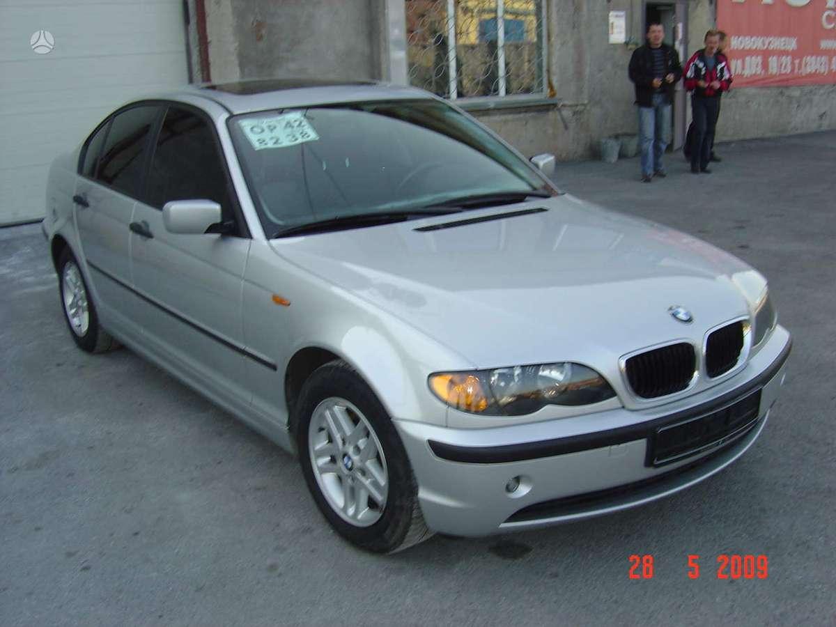 BMW 3 serija. Tel; 8-633 65075 detales pristatome beveik visoje