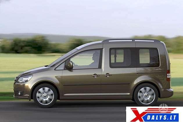 Volkswagen Caddy dalimis. Xdalys.lt  bene didžiausia naudotų