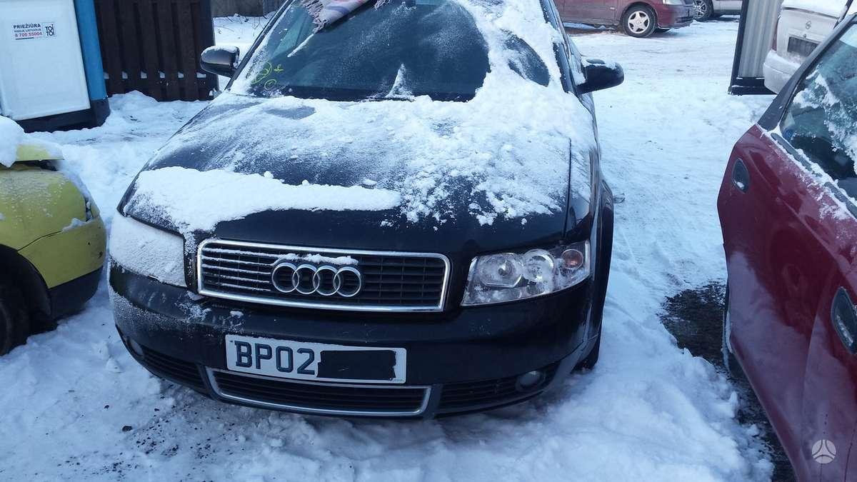 Audi A4. Audi a4 b6 2.0b,,dalimis,,kainos sutartines...yra daug