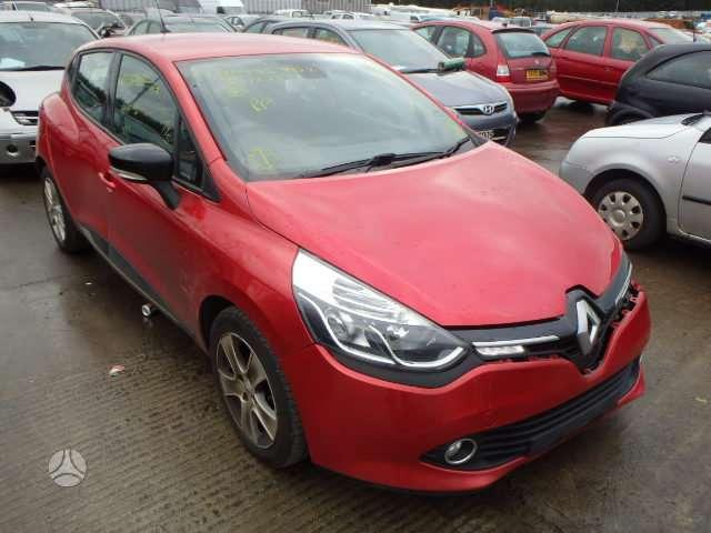 Renault Clio. Dalimis renault clio 0.9 tce 2014 m. ..yra galimybė