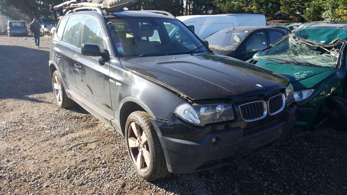 BMW X3. Yra daugiau ardomu auto galimas pristatymas