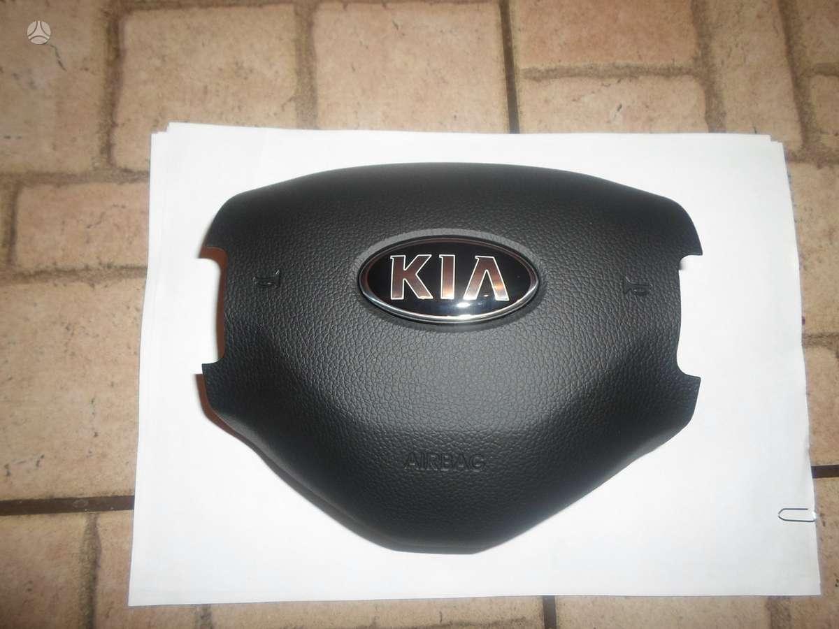 Kia Sportage. Originalus vairo air bag ir kt. det.