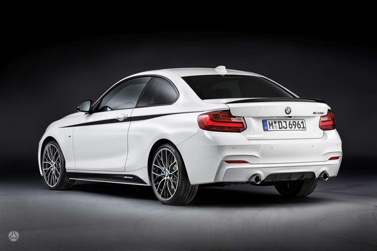 BMW 2 serija. Naujų originalių automobilių detalių užsakymai