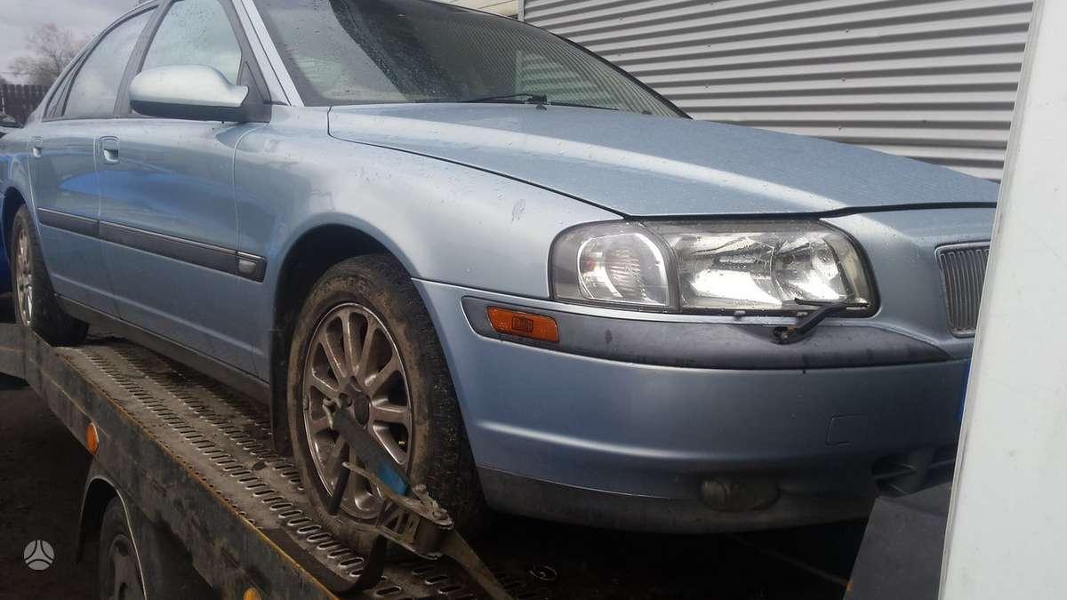 Volvo S80. Automobilis parduodamas dalimis. galime pasiūlyti į