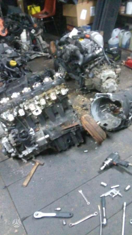 BMW 530. Tik variklio skyrius yra daugiau ardomu auto ir