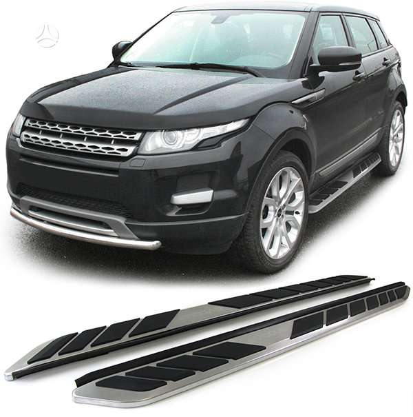 Land Rover Evoque. Soniniai slenksciai 2 variantai -nauji -range