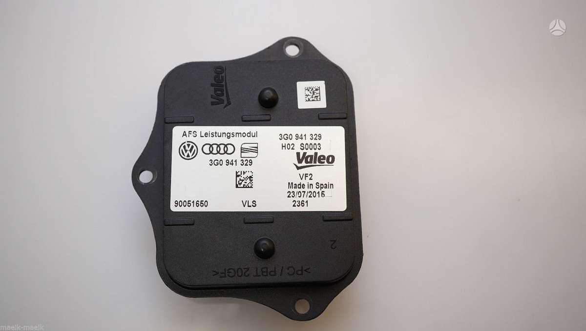 Volkswagen Passat žibintai, lemputės