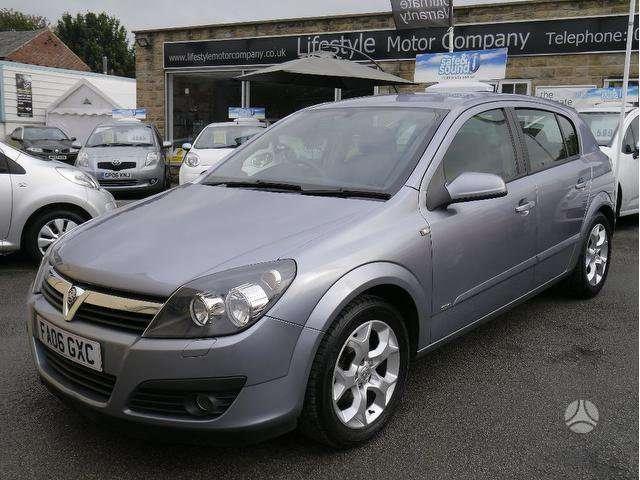 Opel Astra. Engine z18xe  galimas detalių siuntimas į kitus