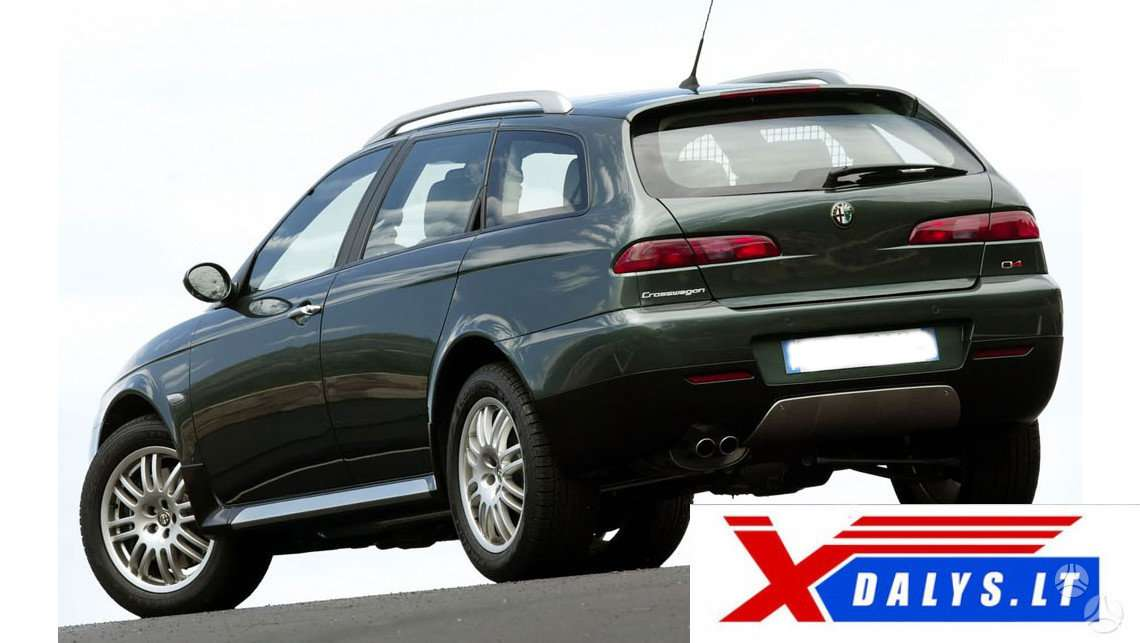 Alfa Romeo Crosswagon Q4 dalimis. Www.xdalys.lt   bene didž