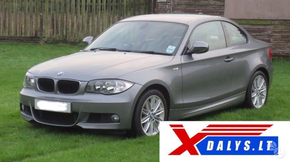 BMW 1 serija dalimis. Xdalys.lt  bene didžiausia naudotų ir