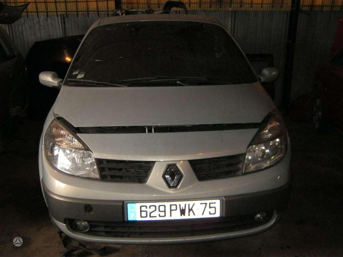 Renault Grand Scenic dalimis