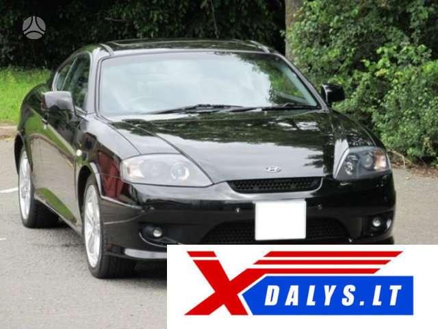 Hyundai Coupe dalimis. Jau dabar e-parduotuvėje www.xdalys.lt jū