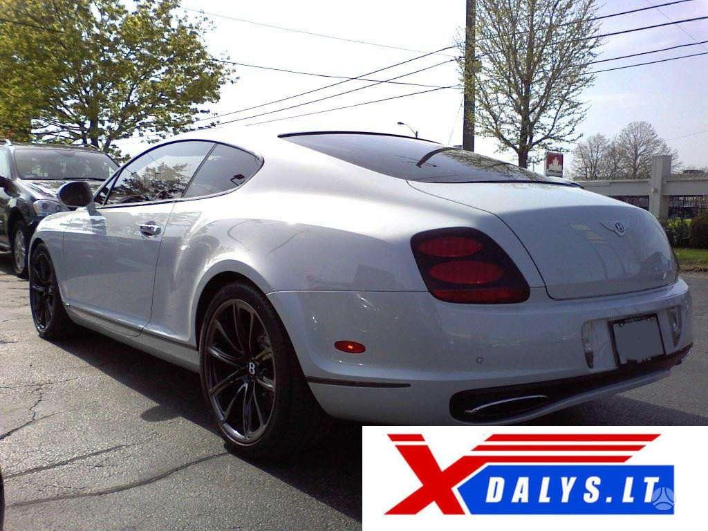 Bentley Continental dalimis. Xdalys.lt  bene didžiausia naudotų