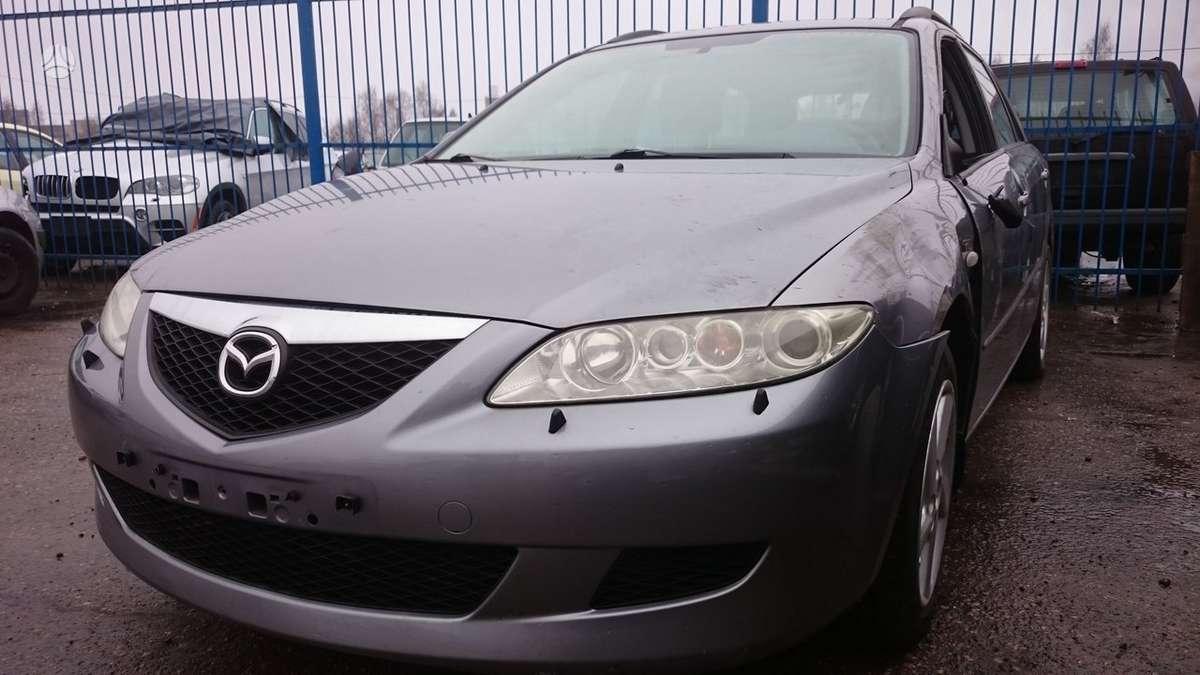 Mazda 6 dalimis. Detales galime pristatyti. didelis detalių