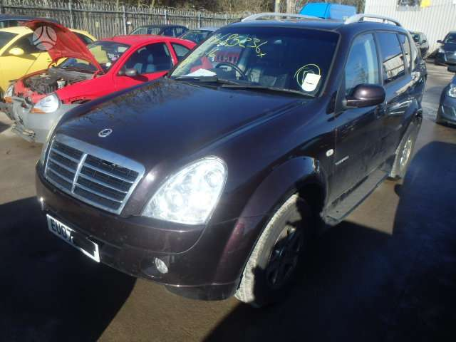 SsangYong Rexton dalimis. Is anglijos, srs, abs, lieti