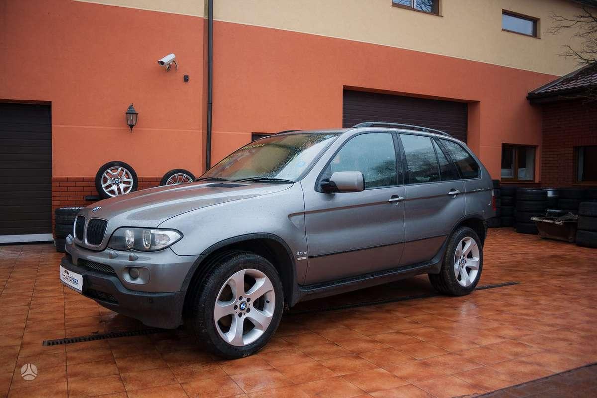 BMW X5 dalimis. Bmw x5 3,0i 2001-2004m.  bmw x5 3.0d 2002-2006m.