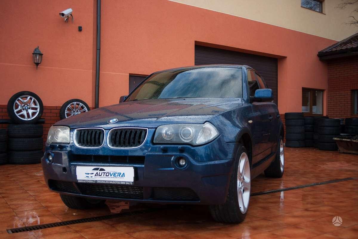 BMW X3 dalimis. Bmw e83 x3 3.0d 2005m. dalimis! taip pat turime:
