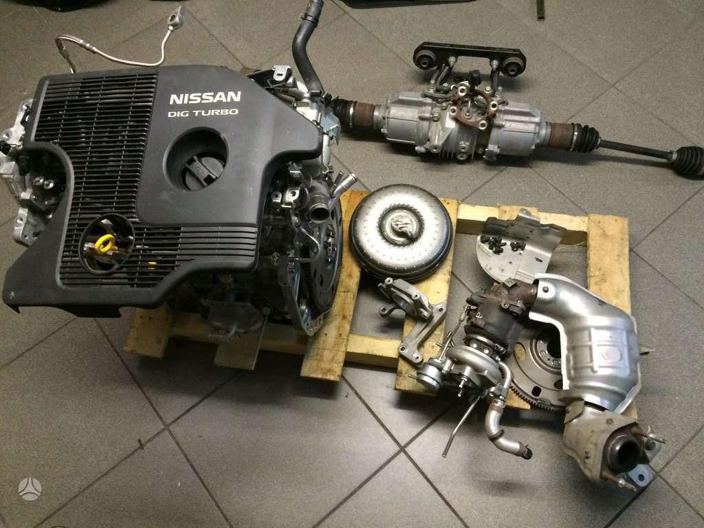 Nissan Juke reduktorius, variklis