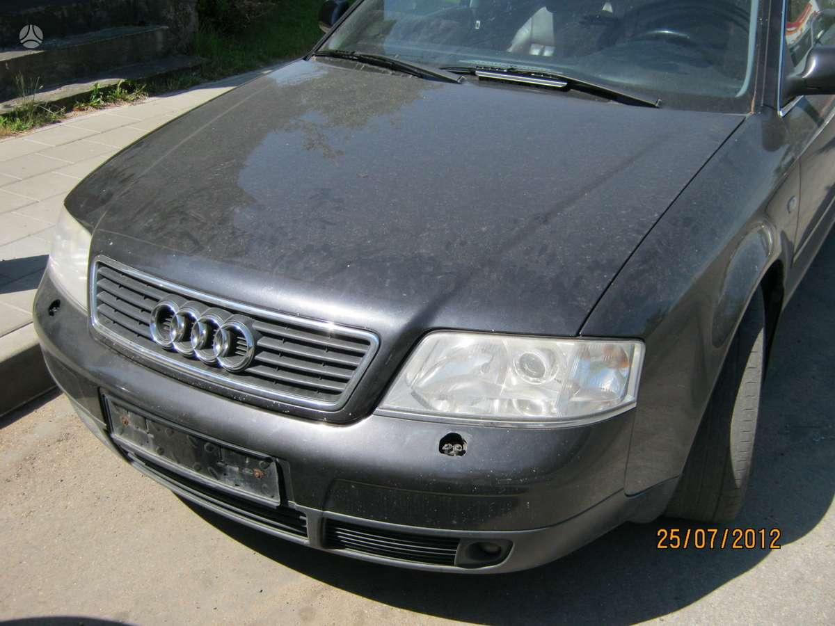 Audi A6 dalimis. 2.7 biturbo variklis ardomas dalimis..esp ..
