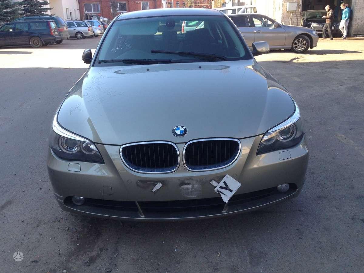BMW 520. Bmw 520 2006m 2.0 dyzelis dalimis , variklio kodas  d4d
