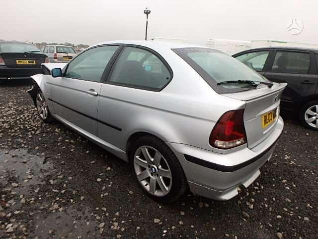 BMW 3 serija. Ardomi du compact abu dyzeliai vienas 5 begiu,
