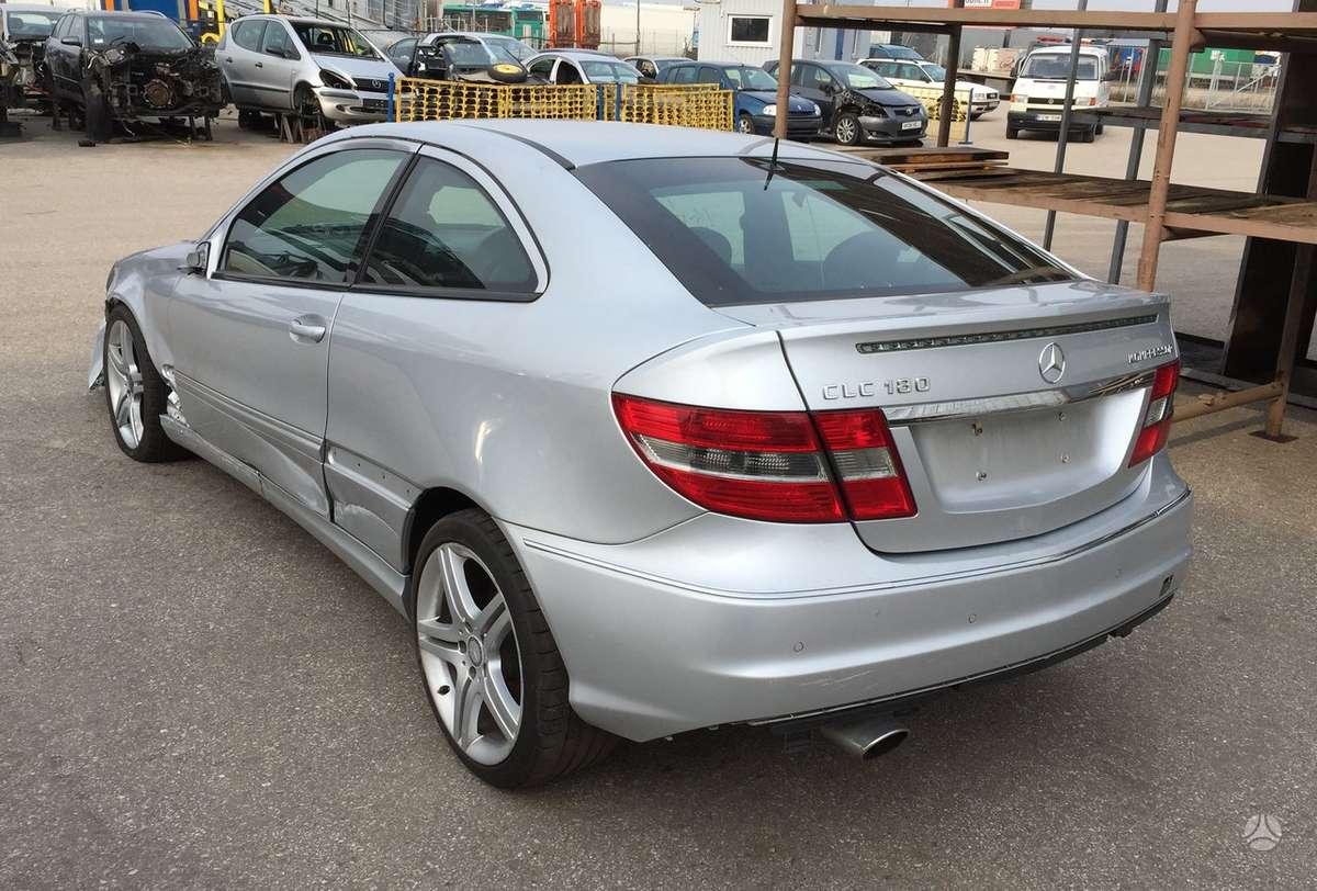 Mercedes-Benz CLC180. Variklio kodas: m271.946 yra mechaninė ir
