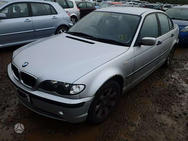 BMW 3 serija dalimis. Yra daugiau yvairiu komplektaciju ardomu e