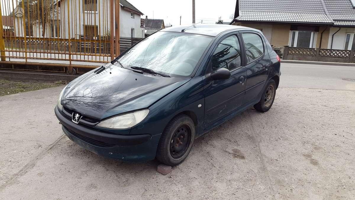 Peugeot 206 dalimis. Kuro siurblys lucas  turime ir daugiau į
