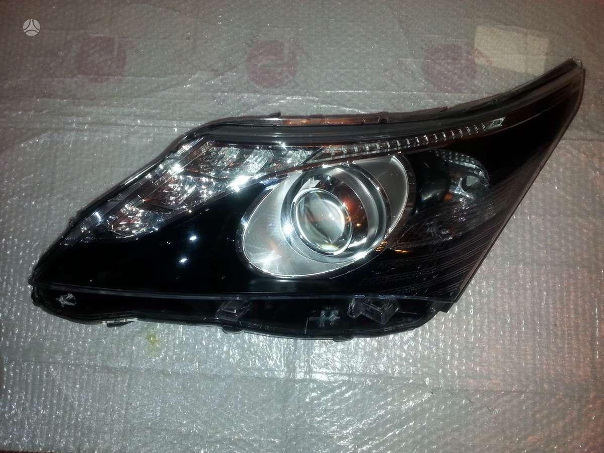 Toyota Avensis. Toyota avensis left led xenon afs headlight 2012-