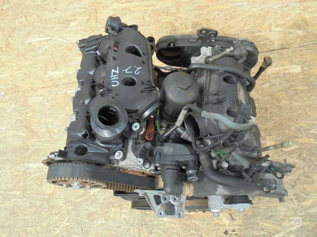 Peugeot 407 variklio detalės