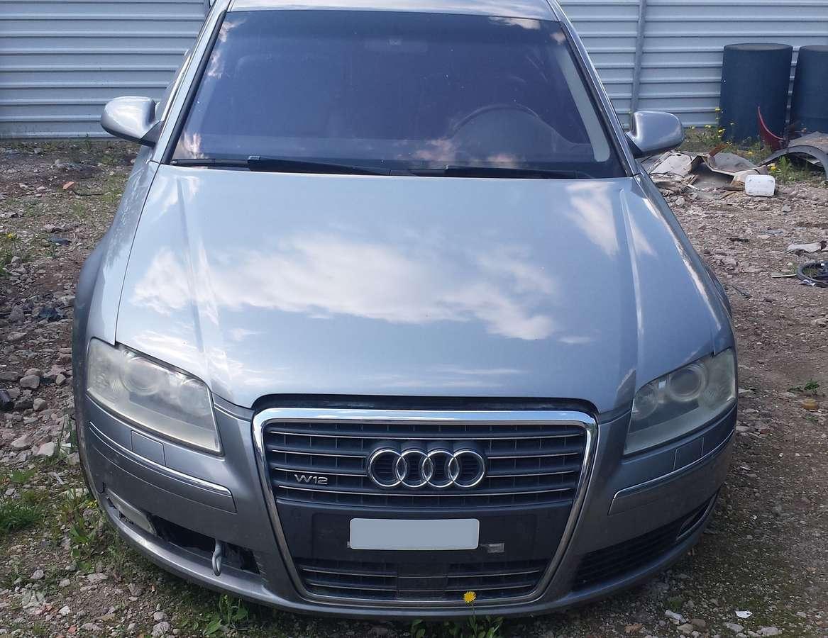 Audi A8 dalimis. W12 pilnas facelift'as, distronik, led