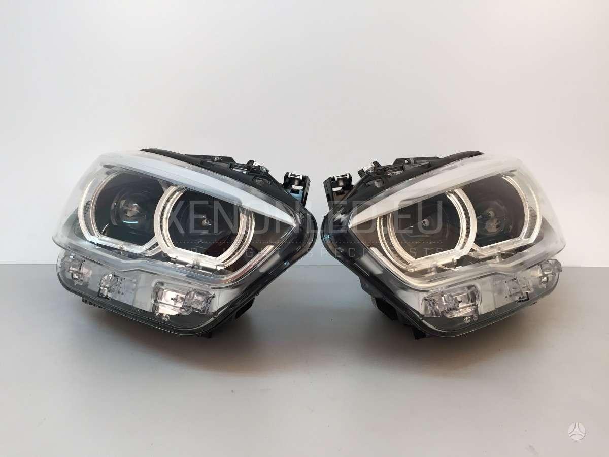 BMW 1 serija. Bmw 1 f20 lci 2015- full led žibintai gamintojas: