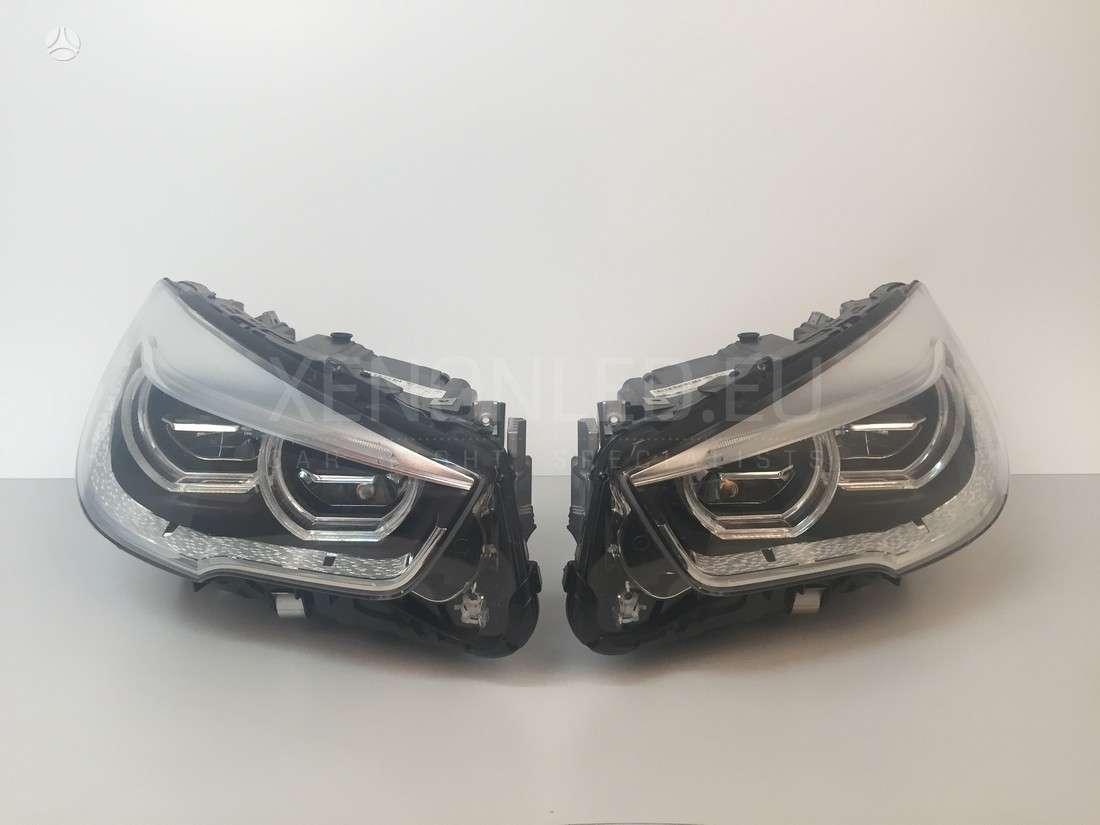 BMW 520 Gran turismo. Bmw 5 gt f07 face lift full led žibintai