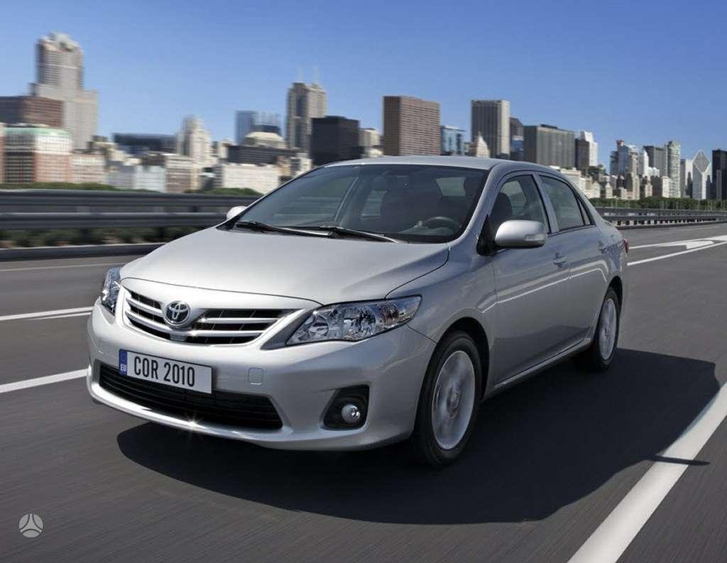 Toyota Corolla, sedanas