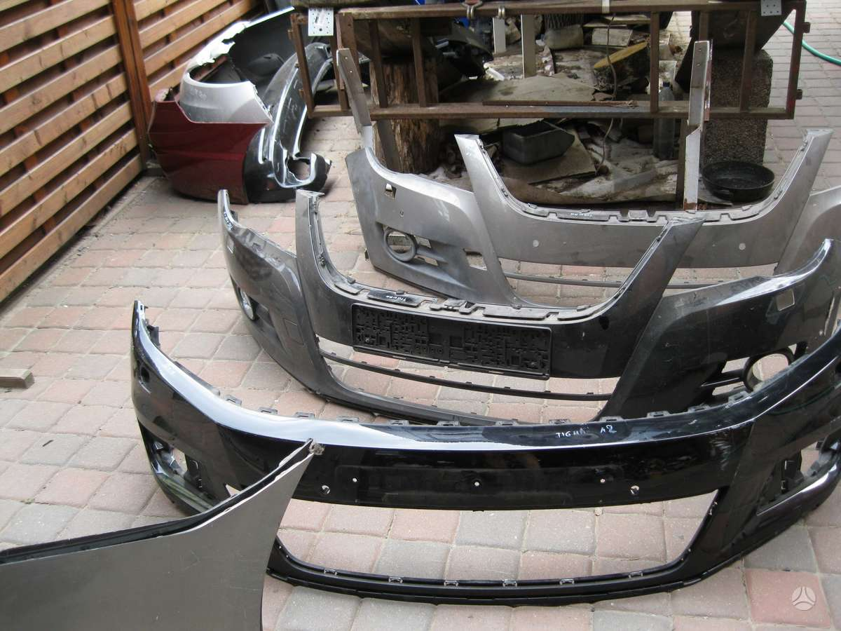 Volkswagen Tiguan. - buferiai,  ---  zibintas ---  groteles -----