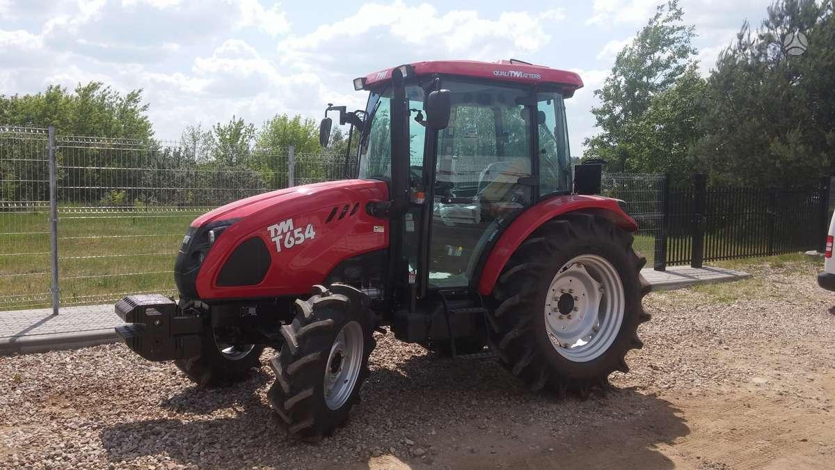 TYM T654, traktoriai